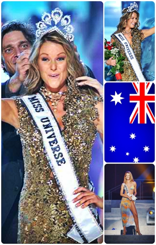 Jennifer Hawkins Miss Universe 2004