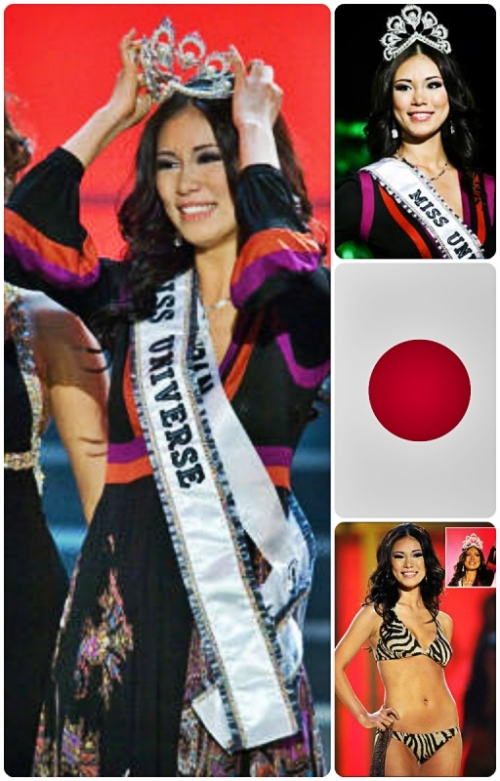 Riyo Mori Miss Japan 2007