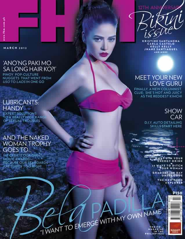 FHM Philippines March 2012 Cover – Too Sexy Or Too Racist