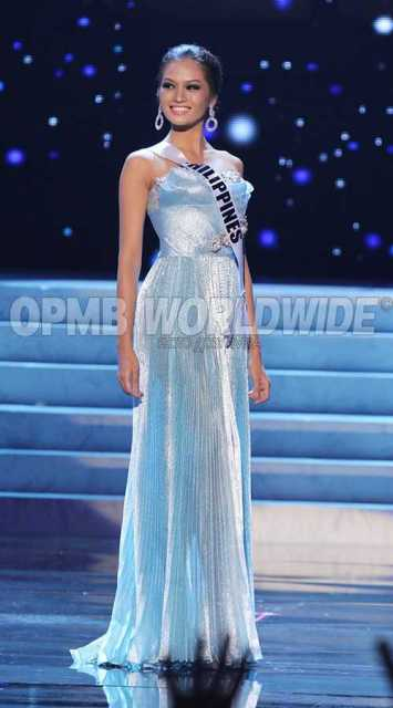 Janine Tugonon Official Evening Gown