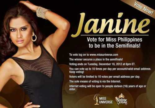 Vote For Janine