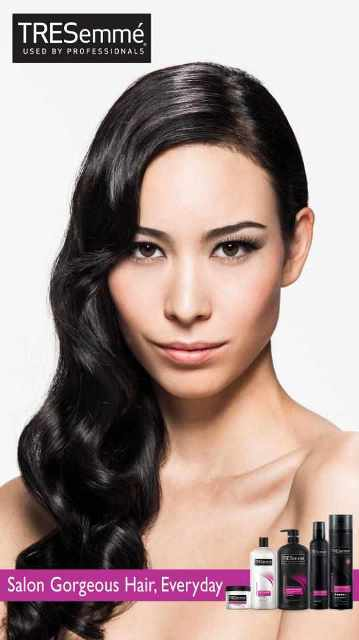 Sofia's TRESemme Ads