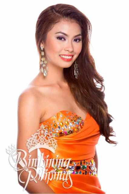 Binibini No 14 Mary Rose Pujanes