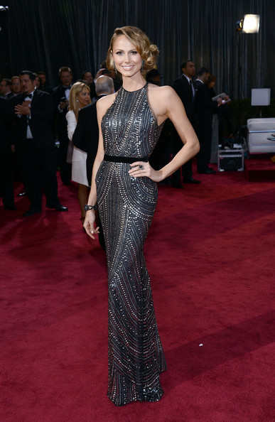 Stacey Kiebler looked perfect in black and silver gown from Naeem Khan's enviable 2013 fall collection. This girl sure knows how to walk the red carpet! She's made it again this year :)