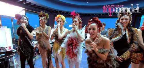 The Girls at Final Runway