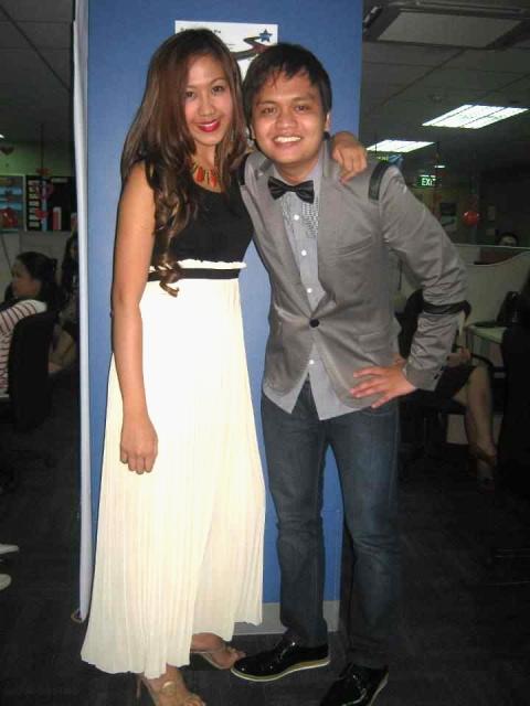 With my dear friend Honey Joi! <3