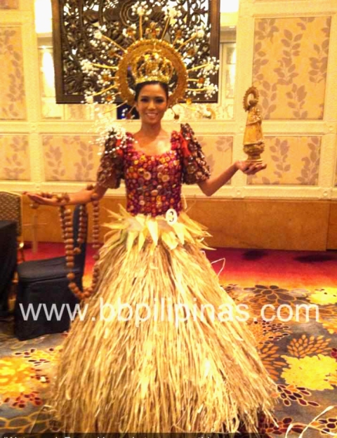 Binibini No 3 Zandra Florez