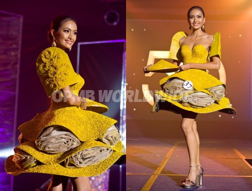 Binibining Pilipinas 2013 Best In National Costume!