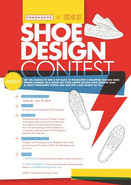 Penshoppe × STATUS Shoe Design Contest