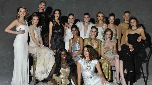 The 2013 hopefuls of Australia's Next Top Model va Splash News
