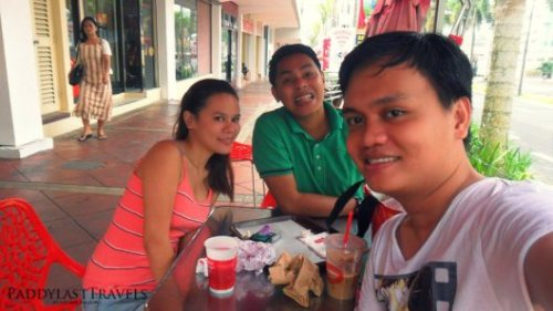 Jerica, Dek and I before heading to Pasay City.