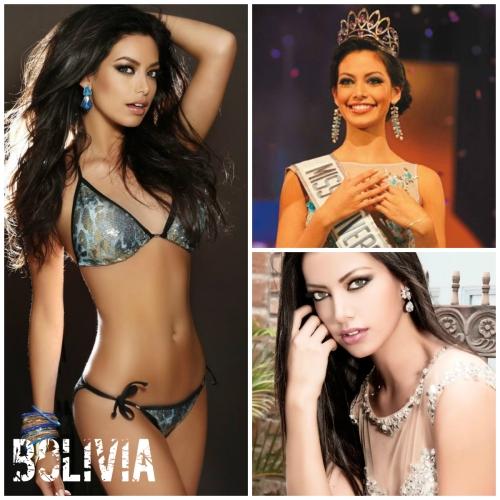 Alexia Viruez, Miss Bolivia 2013