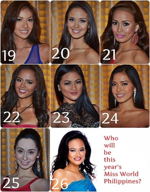 Contestants 19 - 26