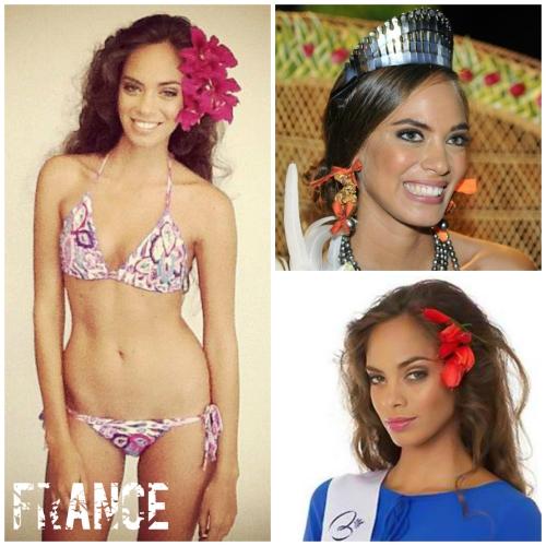 Hinarani de Longeaux, Miss France 2013, first runner up