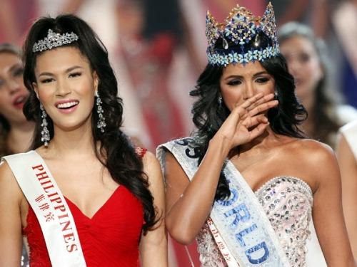 Gwendoline During Miss World 2011