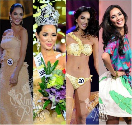 Bea looking so elegant and bubbly during the Binibining Pilipinas 2013 season. via binibining pilipinas fb page