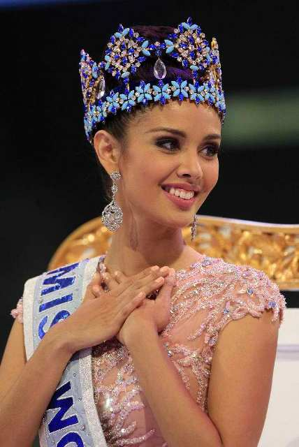 Megan Young, Miss World 2013 via yahoo