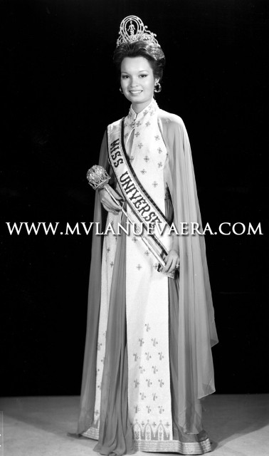Miss Universe 1973, Margie Moran credits to the owner