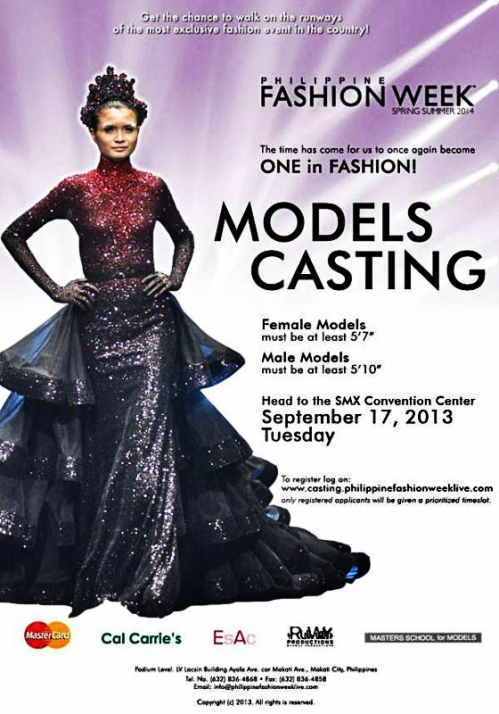 Philippine Fashion Week Casting