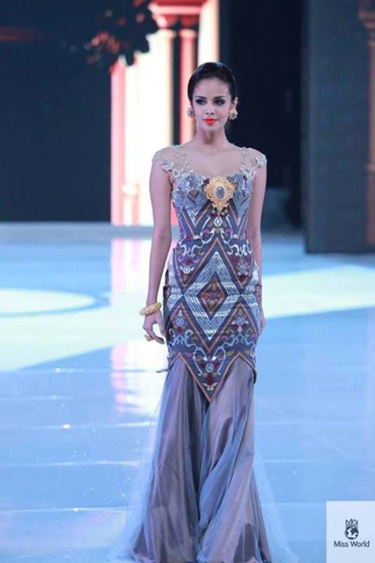 Megan During The Miss World Top Model Event!