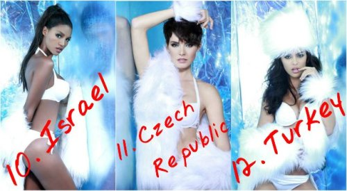 10. Israel – Titi Yitayish Ayanaw 11. Czech Republic - Gabriela Kratochvilova 12. Turkey - Berrin Keklikler