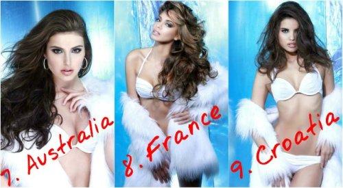 7. Australia - Olivia Wells  8.  France – Hinarani de Longeaux 9. Croatia - Melita Fabecic