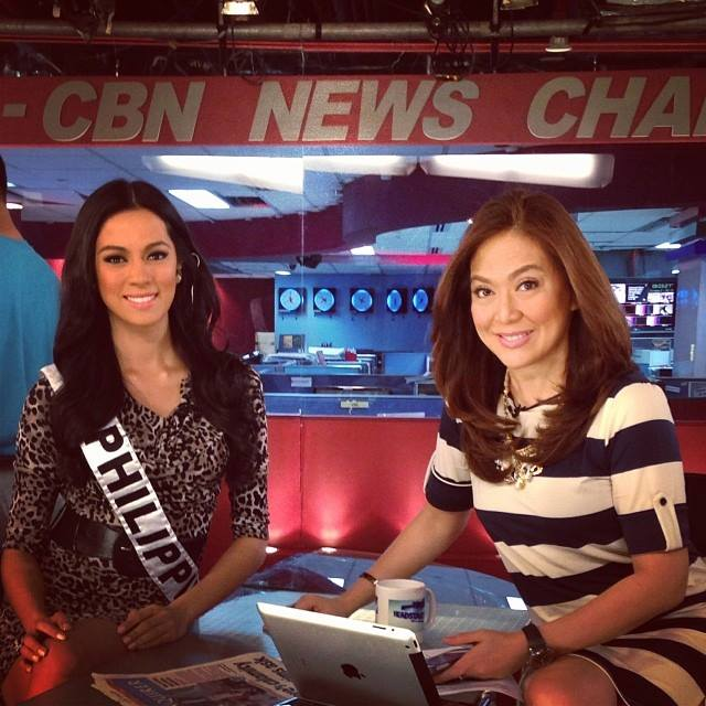 Ara with Karen Davila via Ariella Arida's Official Facebook Page