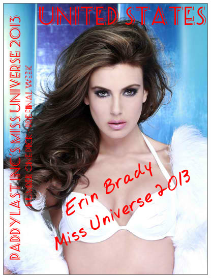Erin Brady clinching the top spot is not a real shocker because she could really win this!
