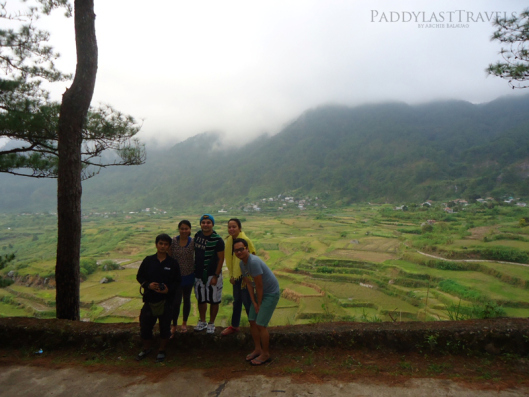 the Kapay-Aw Rice Terraces in the background! Amazing isn't?