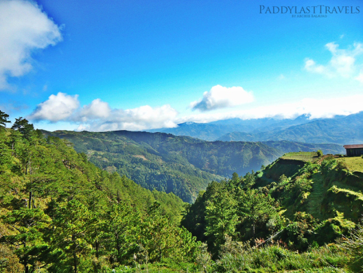the breathtaking view on our way to Pongas Falls...