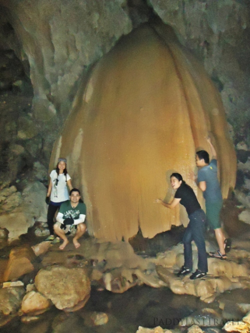 one of the most photographed rock formation within this cave!