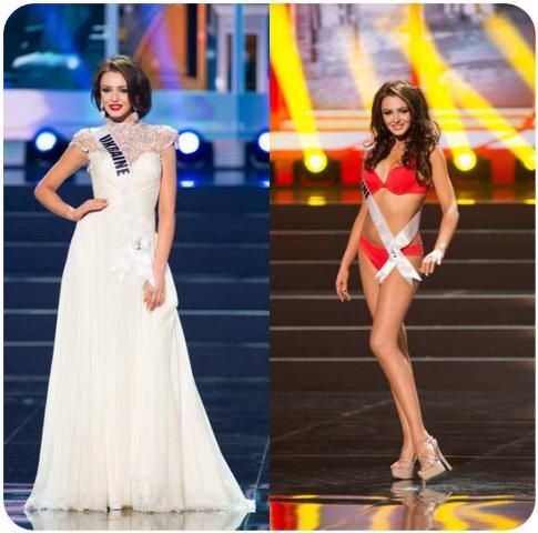 Miss Ukraine  Olga Strorozhenko is back on top!