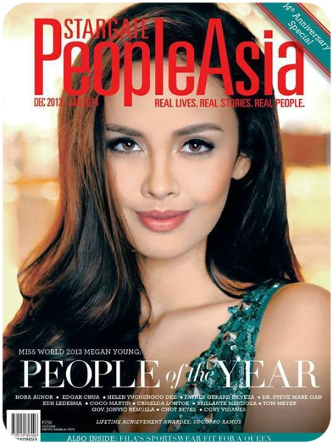 Megan Young in People Asia