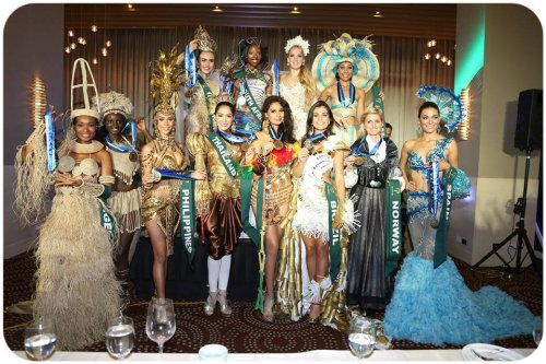 Miss Earth 2013 Presenting the best national costumes from Africa, Americas, Asia and Europe
