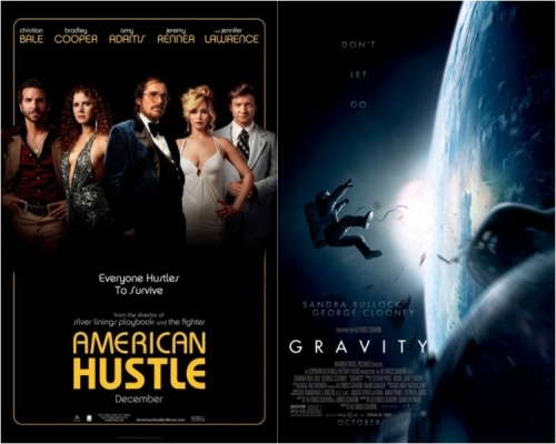 American Hustle and Gravity leads this year's list with 11 nods each!