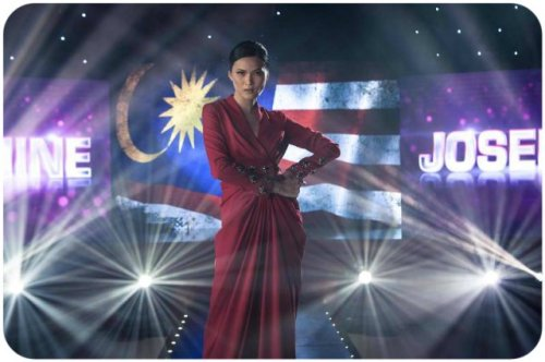Josephine's third. Way to go Team Malaysia!