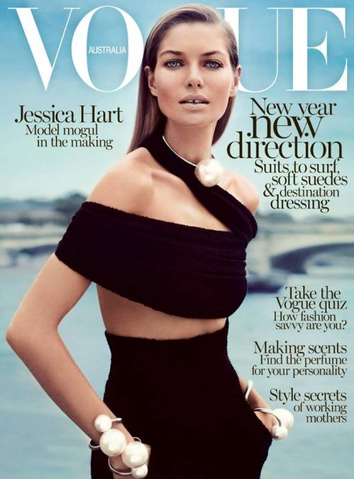 Vogue Australia - Jessica Hart