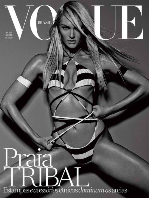 The hotness that is Candice Swanepoel on Vogue Brasil