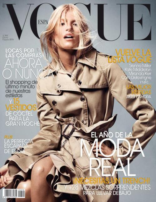 Vogue Espana - Louise Parker