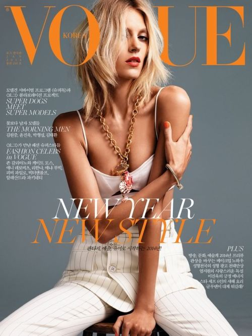 Vogue Korea - Anja Rubik