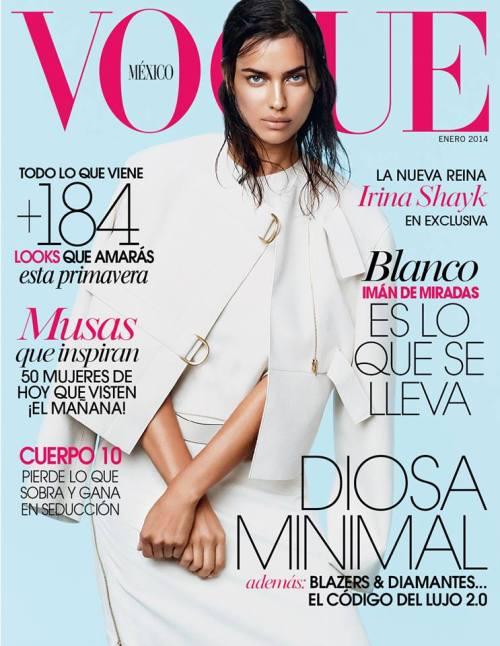 Vogue Mexico - Irina Shayk