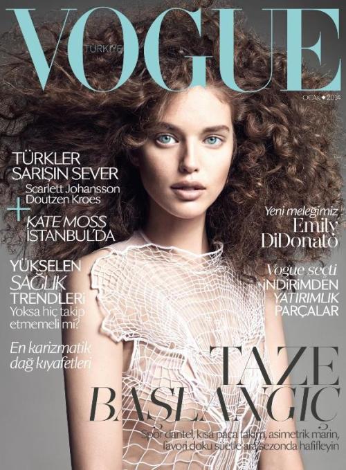 Vogue Turkey - Emily DiDonato