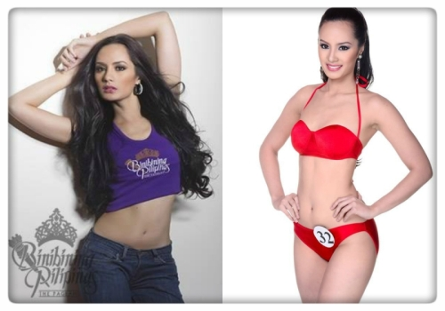 peaking too soon? Binibini No.13 Kris Tiffany Janson