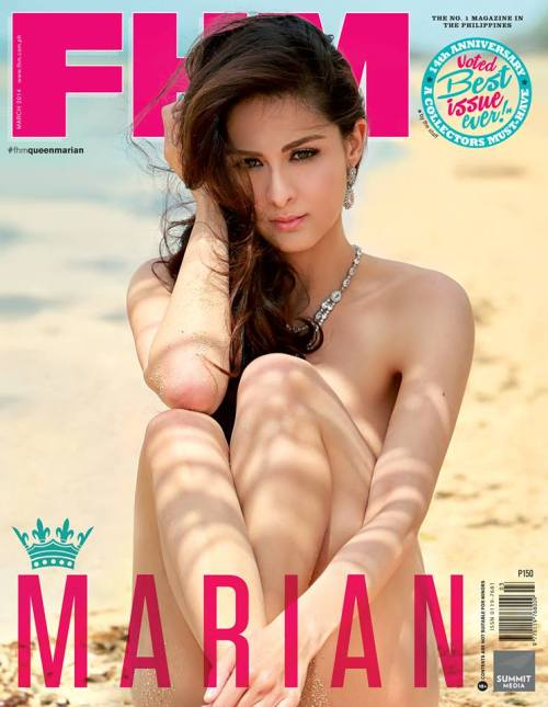 Marian Rivera FHM Cover 2014