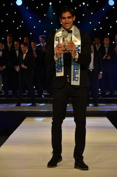Mr World 2013, Francisco Escobar from Colombia
