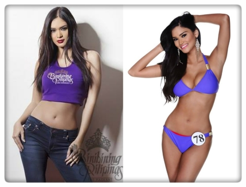 the lone runner up from last year's pageant, Binibini No. 8 Pia Alonzo Wurtzbach