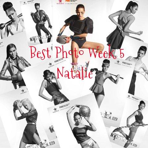 Natalie's Touchdown!