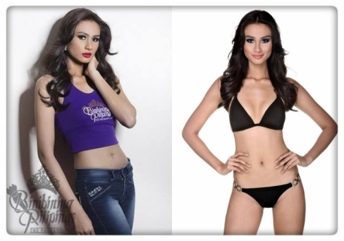 Binibini No.35 Yvethe Marie Santiago was said to be the one to beat.