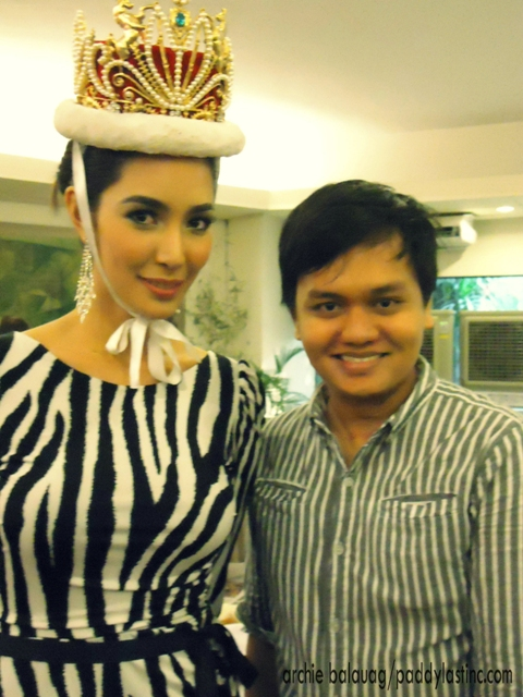 Yours truly with Miss International 2013 Bea Rose Santiago