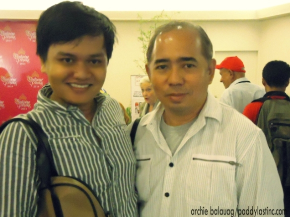 """speaking of Guru, here with me now is none other than the """"creme of the crop,"""" """"utmost"""" beauty queen maker - Mr. Rodgil Flores of Kagandahang Flores!!!!"""